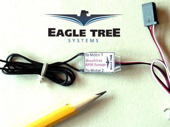 capteur tachym trique eagle tree pour moteur brushless. Black Bedroom Furniture Sets. Home Design Ideas