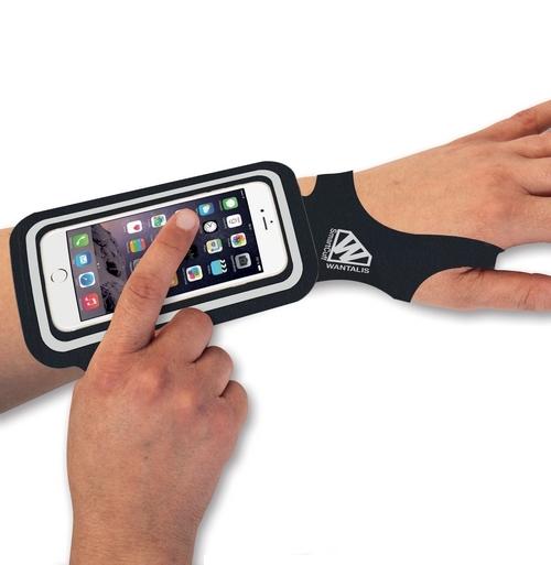 Etui de poignet pour smartphone universel
