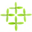 4 hélices Blade 4x4x4 Lumenier hélices vertes