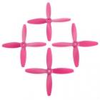 4 hélices Blade 5x4x4 Lumenier hélices violettes