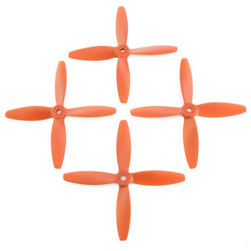 4 hélices Blade 5x4x4 Lumenier hélices oranges
