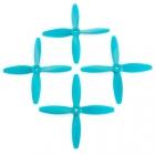 4 hélices Blade 5x4x4 Lumenier hélices bleues