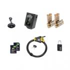 Accessoires Pack Sécurité LTL Acorn 5310A piles caisson carte sd cadenas câble python