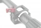 Adaptateur handle bar 25mm pour fixation moniteur DJI Ronin-M 1