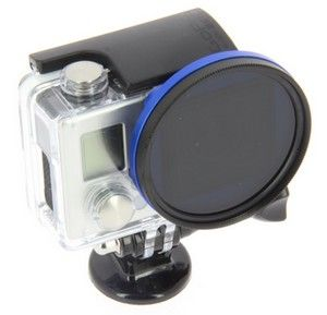 Adaptateur couleur filtre 52mm pour GoPro Hero 3+