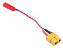 Adaptateur JST vers XT60 sur câble 10cm