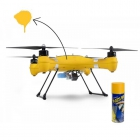 Aérosol Plasti Dip 400 ml appliqué sur un drone