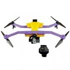 Drone AirDog Auto-follow avec bracelet AirLeash de contrôle étanche vue de face