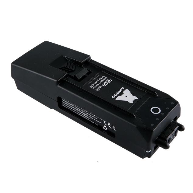 Batterie - AirDog vue de haut