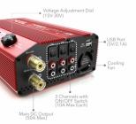Cette alimentation convertit le courant alternatif offrant jusqu\'à 50 Ampères en courant continu.