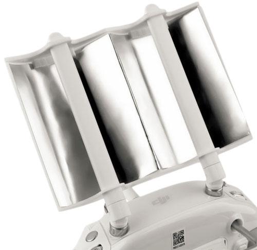 Deux panneaux incurvées en aluminium pour un meilleur signal de réception de votre DJI Phantom 3 ou Inspire 1
