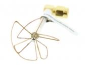 fabrication artisanale antenne omnidirectionnelle SL Pentalobe 5.8GHz