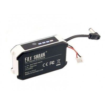 Batterie Fatshark 1800 mAh avec indicateur LED