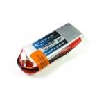 La batterie lipo 2S 800 mAh 20C Dualsky