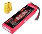 Batterie lipo 3S 3000 mAh 40C (XT60) - KyPOM