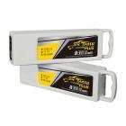La batterie Tattu possède une capacité plus importante que la batterie d'origine Yuneec et offrira une meilleure autonomie