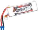 Batterie lipo 4S 2250 mAh 45C - Dualsky