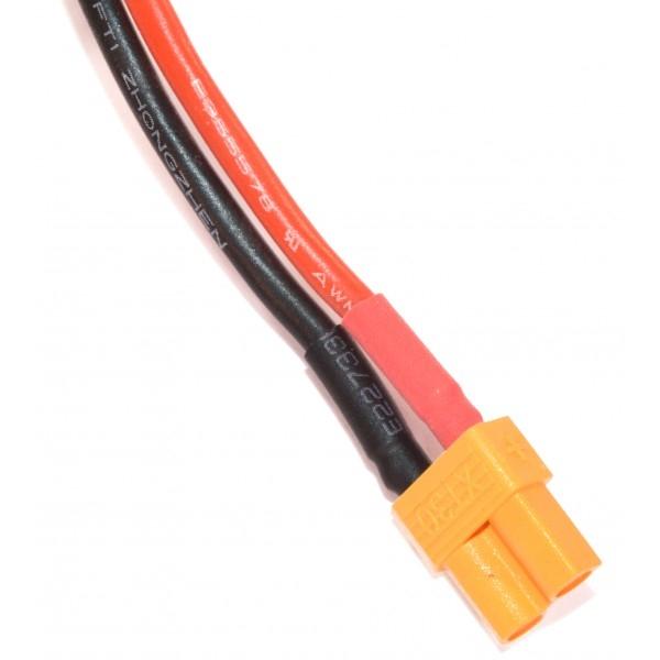 Batterie lipo 4S 480mAh 30C (XT30) - EPS - Vue connecteur XT30