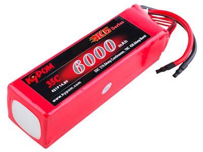 Batterie lipo 4S 6000 mAh 35C (XT60) - KyPOM