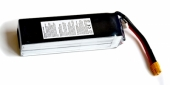Batterie lipo 4S 6300 mAh 30C (XT60) - EPS - Vue du dessous