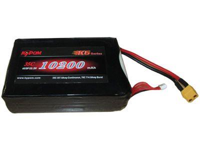 Batterie lipo 6S 10200 mAh 35C (XT60) - KyPOM