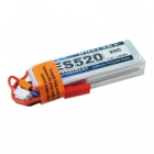 Batterie LiPo 7.4V 520mAh 2S 20C DUALSKY ES