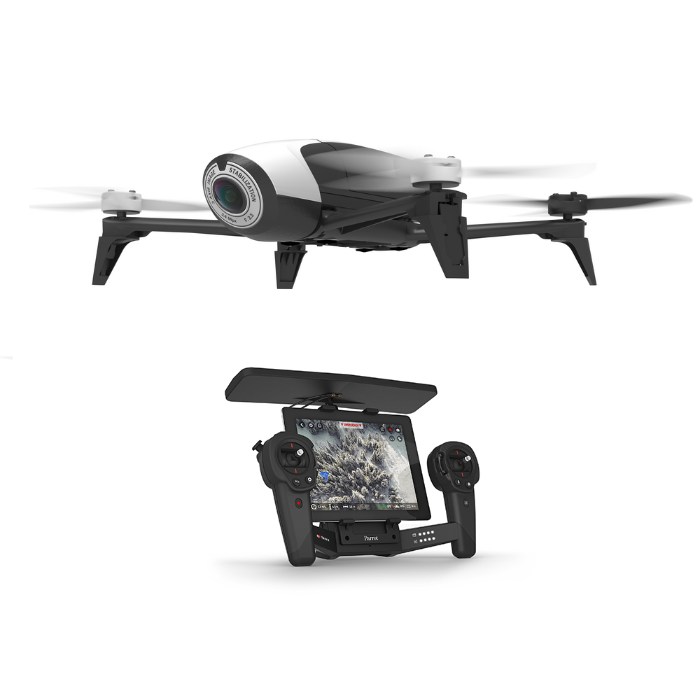 drone bebop 2 skycontroller black edition parrot. Black Bedroom Furniture Sets. Home Design Ideas
