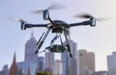 Camera Blackmagic Micro Studio 4K sur un drone