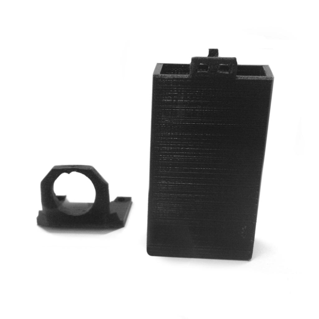 Boitier support batterie et caméra