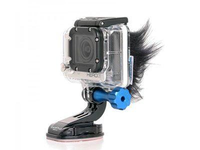 Bonnette anti-vent pour GoPro