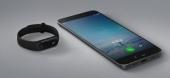 Bracelet connecté MiBand 2 Xiaomi avec smartphone