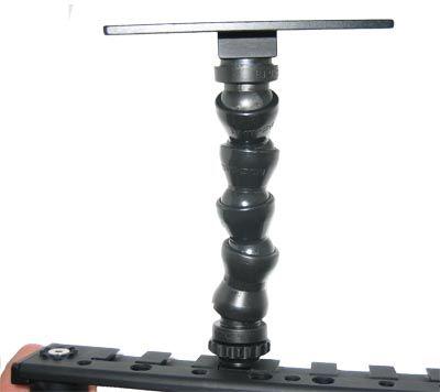 Bras articulé 15 cm avec plateau K-Tek