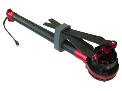 Bras complet anti-horaire LED rouge DJI S1000+
