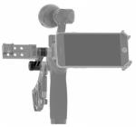 Cumulez jusqu\'à 3 accessoires DJI Osmo simultanément pour une utilisation optimale du stabilisateur