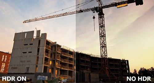 Brinno Caméra Construction Pro BCC200 comparaison photo hdr