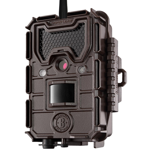 Bushnell Trophy Cam HD Wireless GSM GPRS de face avec antenne