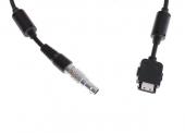 Zoom sur le câble adaptateur Focus pour DJI Osmo (2m)