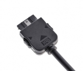 Zoom sur le connecteur DJI Osmo du câble adaptateur