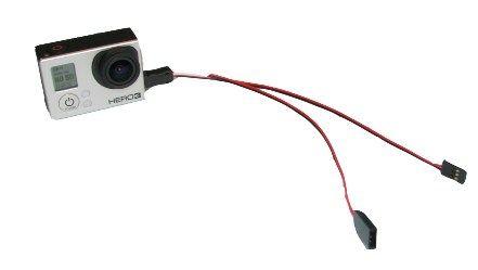 Câble coudé GoPro Hero3 vers Tx
