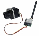 Émetteur vidéo relié à la caméra thermique FLIR VUE PRO par le câble vidéo