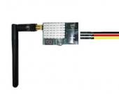 Câble vidéo pour caméra thermique FLIR VUE PRO relié à un émetteur vidéo