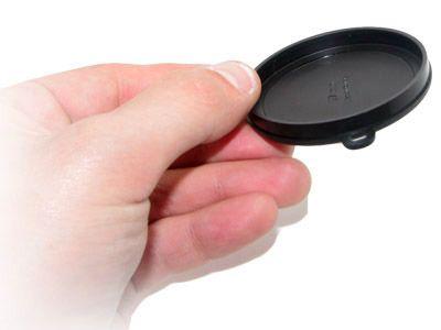 Cache de protection pour filtre 55mm