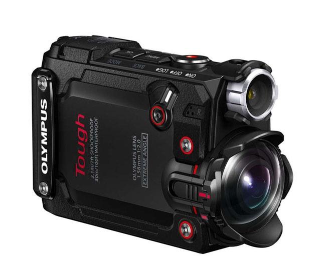 Caméra embarquée 4K Stylus Tough TG-Tracker - OLYMPUS - vue de biais