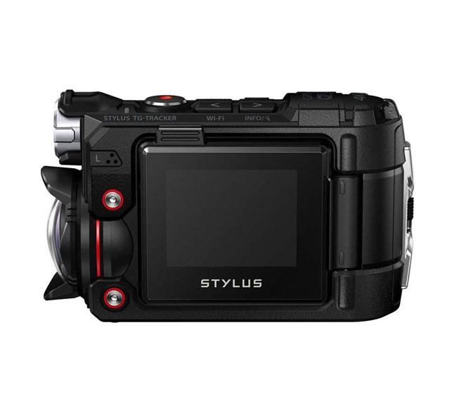 Caméra embarquée 4K Stylus Tough TG-Tracker - OLYMPUS - vue de côté