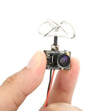 Caméra Eachine TX01 5.8G 40CH 25MW vue entre deux doigts