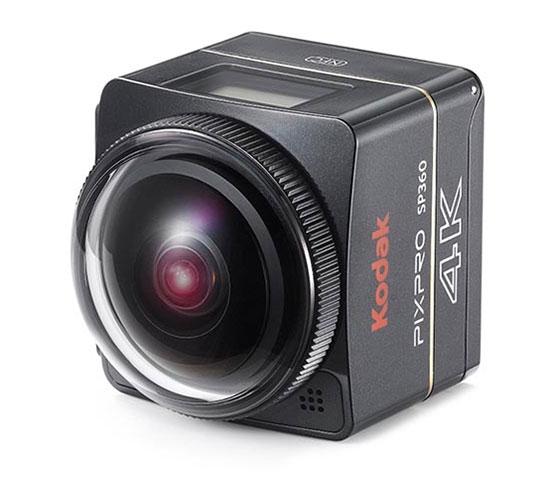Caméra Kodak SP360 4K - Dual Pro Pack - vue latérale