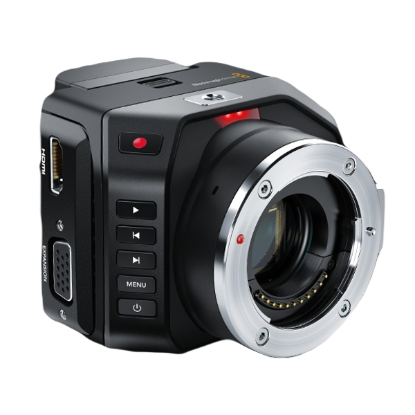 Camera Micro Cinema - Blackmagic caméra vue de biais