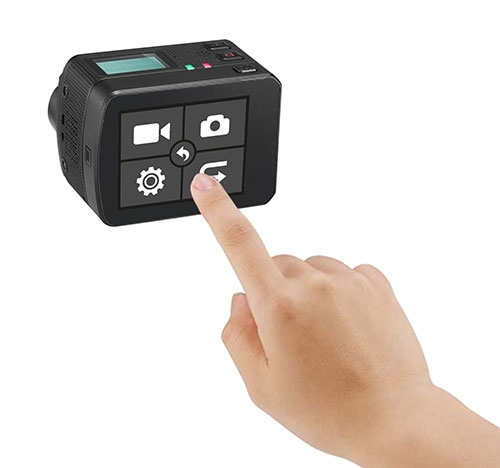 Caméra PNJcam AEE S77 avec écran bacpac