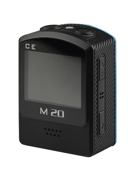 Caméra SJCAM M20 vue de dos sans caisson