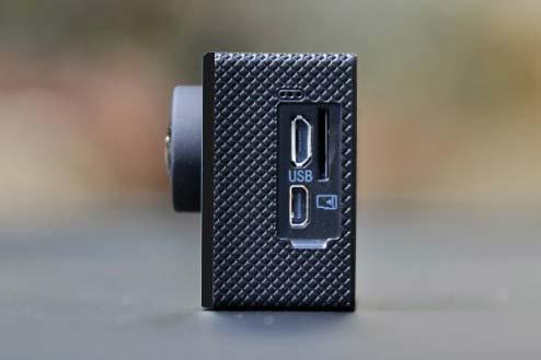 Connectiques vidéo caméra SJCAM SJ400+